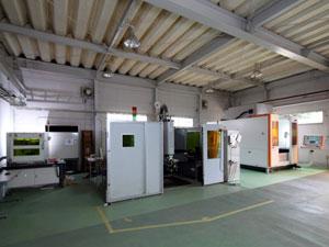 レーザー加工工場全景