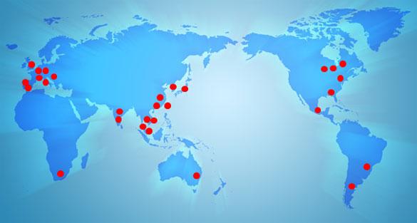 海外各地でのシボの加工・補修サービスに応える体制をモールドテック社